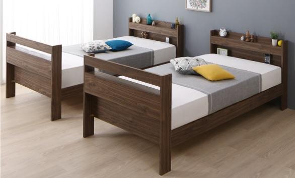 分割できる2段ベッド