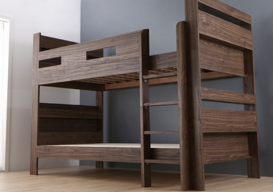 シンプルデザイン2段ベッド