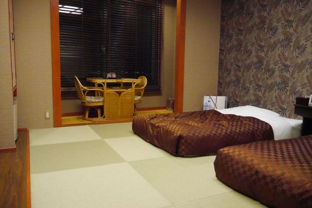和室とベッド