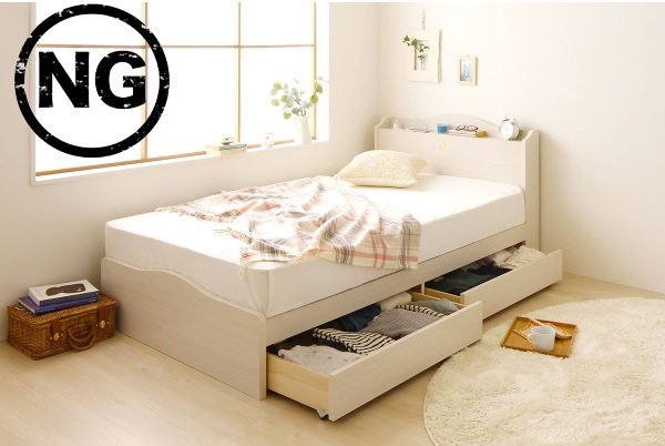 ベッドNG配置
