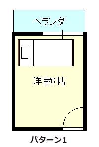 ベッド窓際