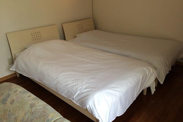 ベッドの素材